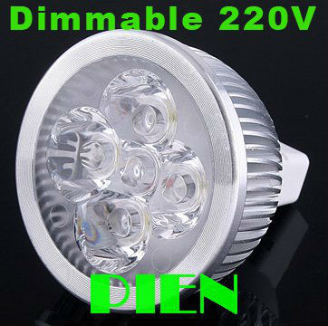 Dimmable led lamp mr16 220v GU10 4W gu 5.3 12V spot lighting lampada de led para casa 110V  lustres Free Shipping 2pcs