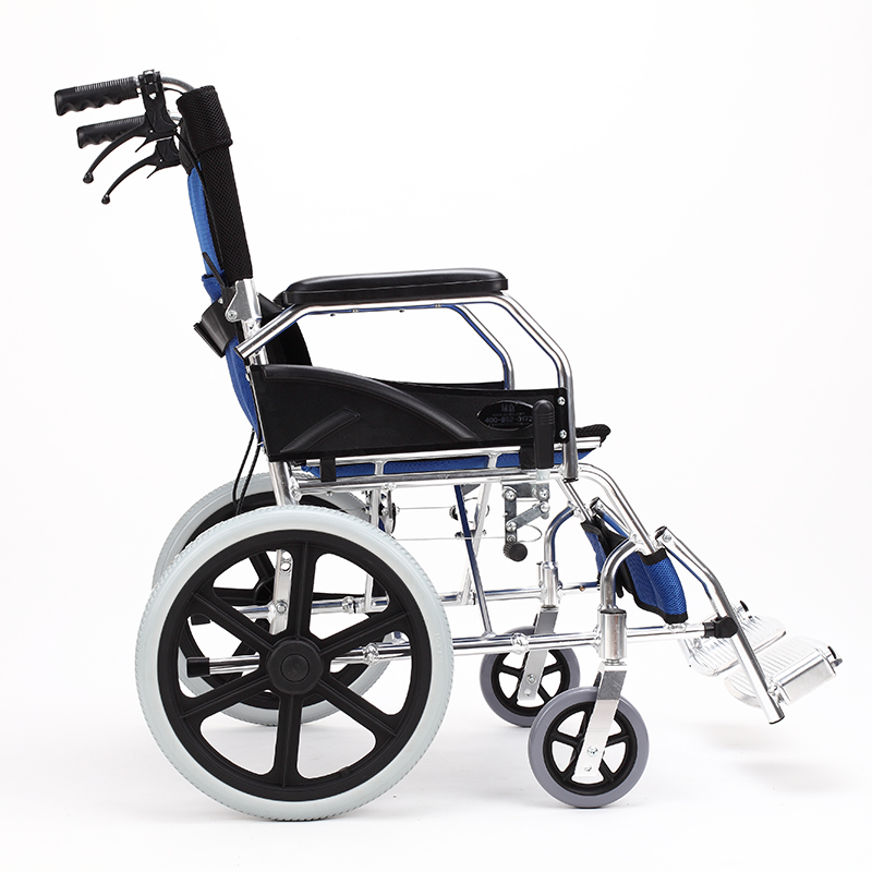 Cheap price lightweight wheelchair manual for disabled people cheap price folding lightweight manual wheelchair for handicapped and elderly