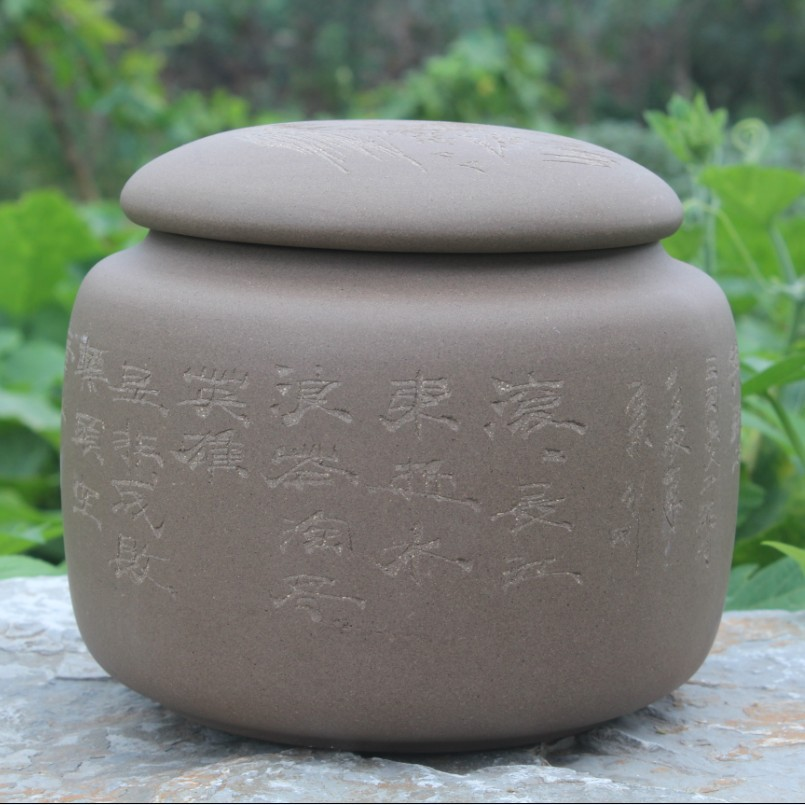 Yixing Yixing tea tea factory wholesale segment Zisha tea pot mud ore deposit tea store mixed batch yixing zisha tea caddy authentic fine workmanship high grade tea pot square box mixed batch