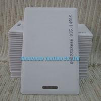 бесплатная доставка 10 шт./лот RFID-меток-тегов карточки em4100 карточка tk4100 125 кгц близость удостоверение личности карты 1.8 мм толщиной кредитной карты система контроля доступа карты