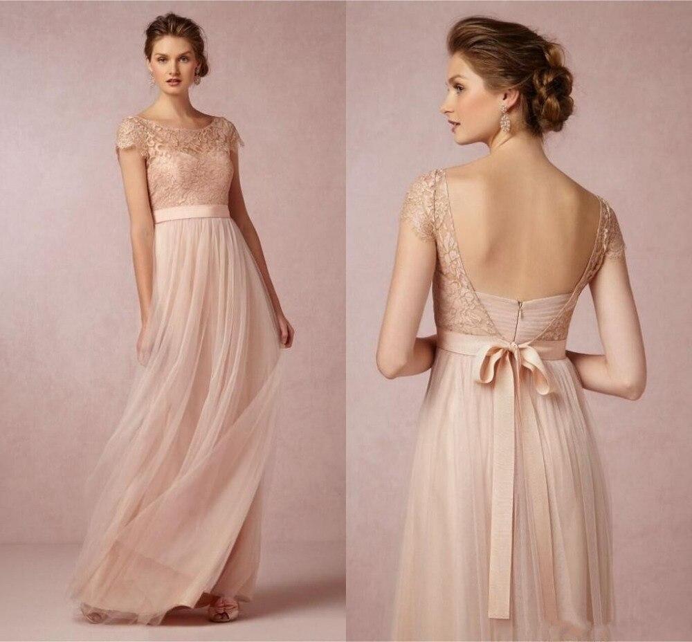 Bonito Vestidos De Dama Populares Patrón - Colección de Vestidos de ...
