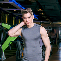 NEW Gym Fit Tank Top Mens Bodybuilding Vest Design Singlet Fitness Sleeveless Shirt Muscle Vest Workout Exercise running vest