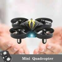 2,4G Mini RC Kleine Drone S22 Quadrocopter Elicoptero de Controle Remoto Mit Einem Schlüssel Rückkehr Headless Modus Spielzeug Für kinder