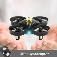 2.4G Mini RC Small Drone S22 Quadrocopter Elicoptero de Controle Remoto With One
