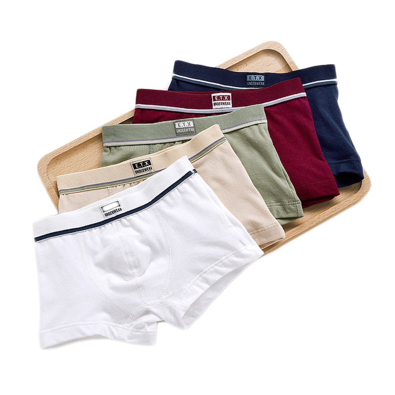 R-Cors Homme sous-V/êtements Grande Taille Sports Slip Lingerie Hommes Briefs Coton Culotte Couleur Unie Doux Hip-up Cale/çons Panty Confortable Boxer