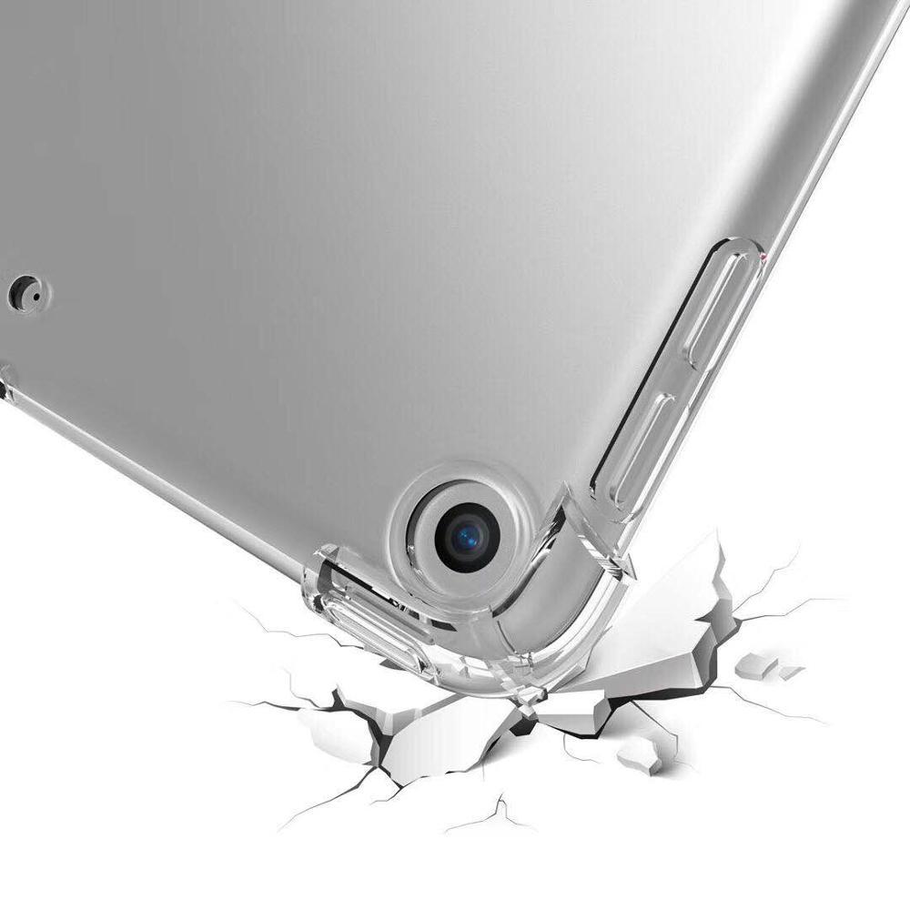 מקרן קיר Drop התנגדות שקופה להגנה עבור Apple iPad Case 9.7 2018 מקרה 10.5 פרו iPad Air 2 מיני 4 3 2 1 מקרים (4)