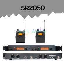 In Ear Monitor Wi-fi System  Skilled for Stage Efficiency SR2050 IEM With 2 Receiver