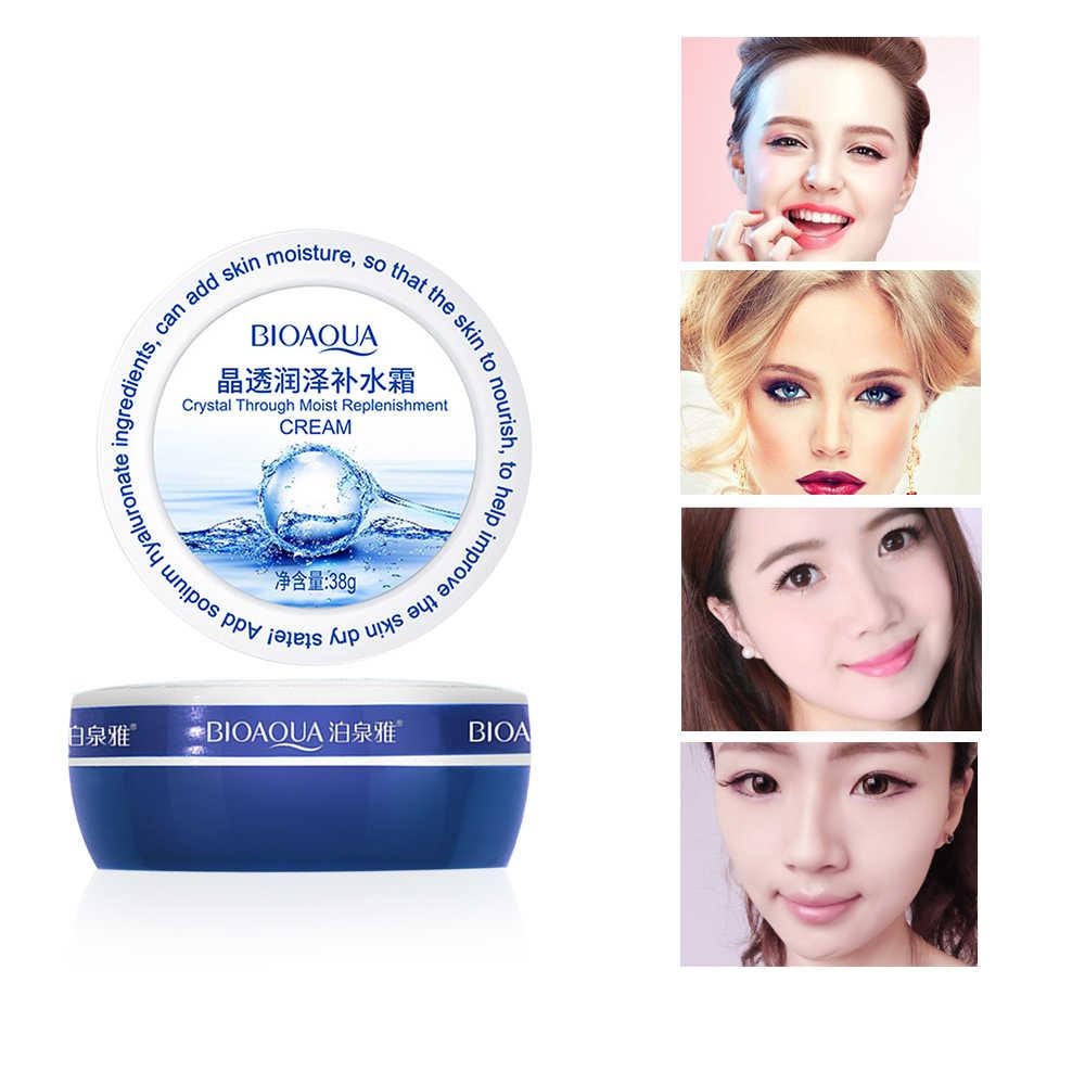 Tiefe Feuchtigkeitsspendende BIOAQUA Hyaluronsäure Gesichts Tag Creme Bleaching Füllung Wasser Anti Falten Lift Straffende Hautpflege TSLM2