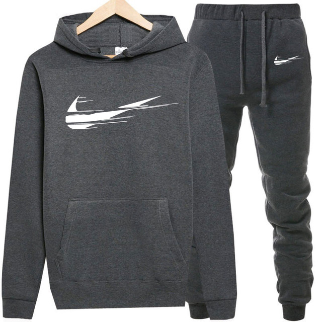 Fleece Hooded Pullover Fashion Brand Hoodies Sweatshirts+Sweatpants Suits Sweatshirt Men/Women Hoodie Tracksuit Sport Suit