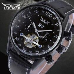Forsining męskie Wtch znane marki Jargar zegarki automatyczne mężczyźni biznes styl mężczyźni oglądać darmowa wysyłka JAG16556M3B2