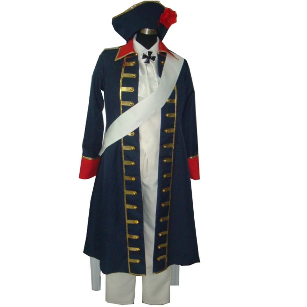 2019 APH Axis Powers Hetalia Prussia Cosplay Costume