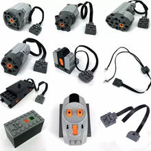 QunLong technic parts compatible LegoINGlys multi power functions tool servo blocks 20001 train moto motor model sets building(China)
