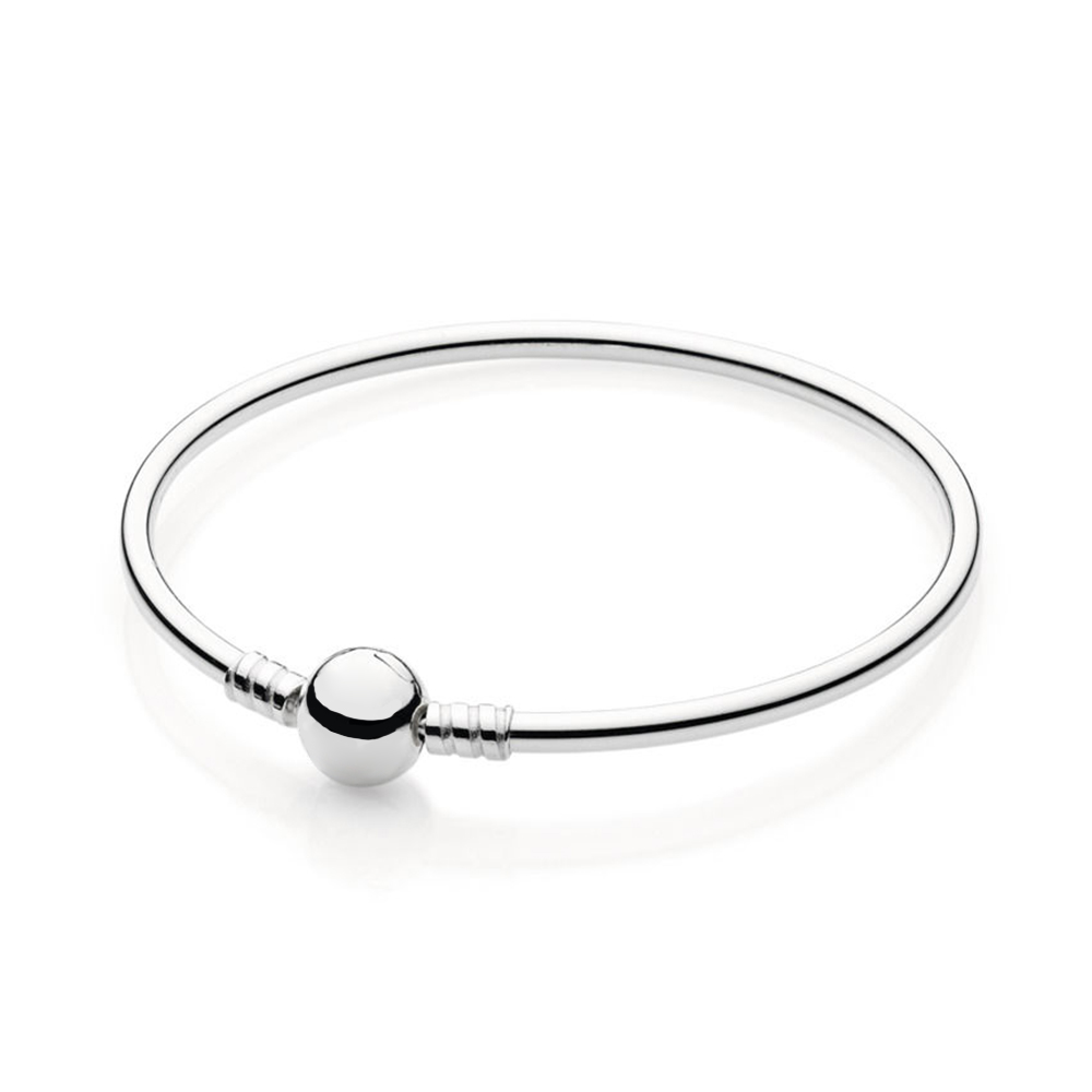 2018 New 100% 925 Sterling Silver Bracelet Moments Charm Bangle Charm Bead for Women of Fashion DIY Gift Jewelry2018 New 100% 925 Sterling Silver Bracelet Moments Charm Bangle Charm Bead for Women of Fashion DIY Gift Jewelry