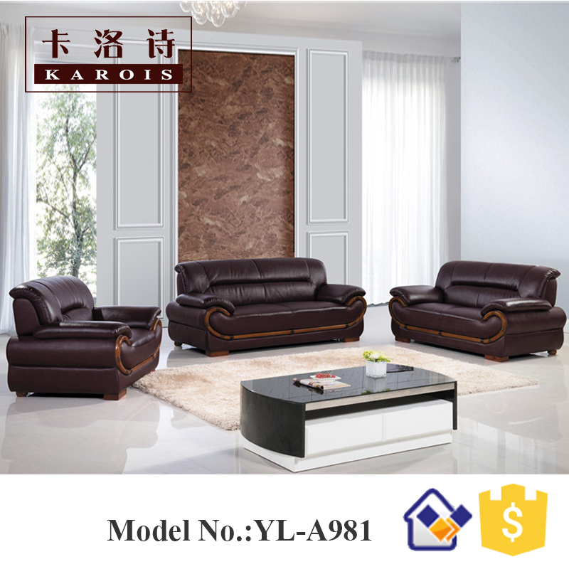 House Modern Sectional New Model Wooden Sofa Sets In Living Room