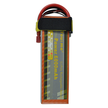 You&me RC Battery 22.2V 6000mAh 50C 6S 6Cells 22.2 Volt RC  Li-Poly Battery Rechargeable Helicopter