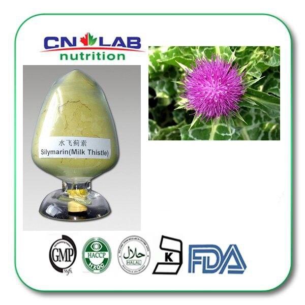 1kg/ bag Milk Thistle Extract 98% Silymarin (UV)