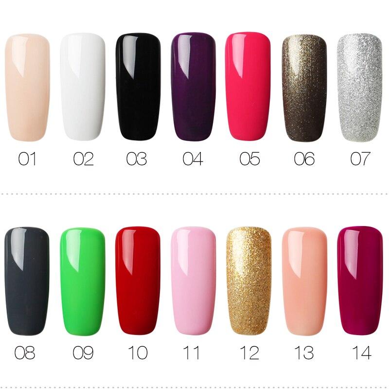 Rosalind Gel Lacquer 10ml Pure Colornail Polish Setkit Nail Art