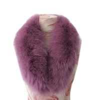 2018 New Winter Fashion Women Real Fox Fur Scarf Fur Collar Keeps Warm#29