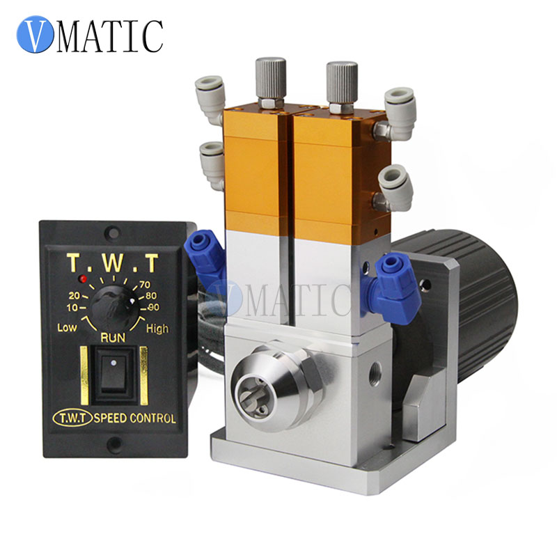 Free Shipping 2019 New Liquid Two Component Mixing Glue AB Valve 2:1 With Electrical Machine 15W or 25W At Clients Requests
