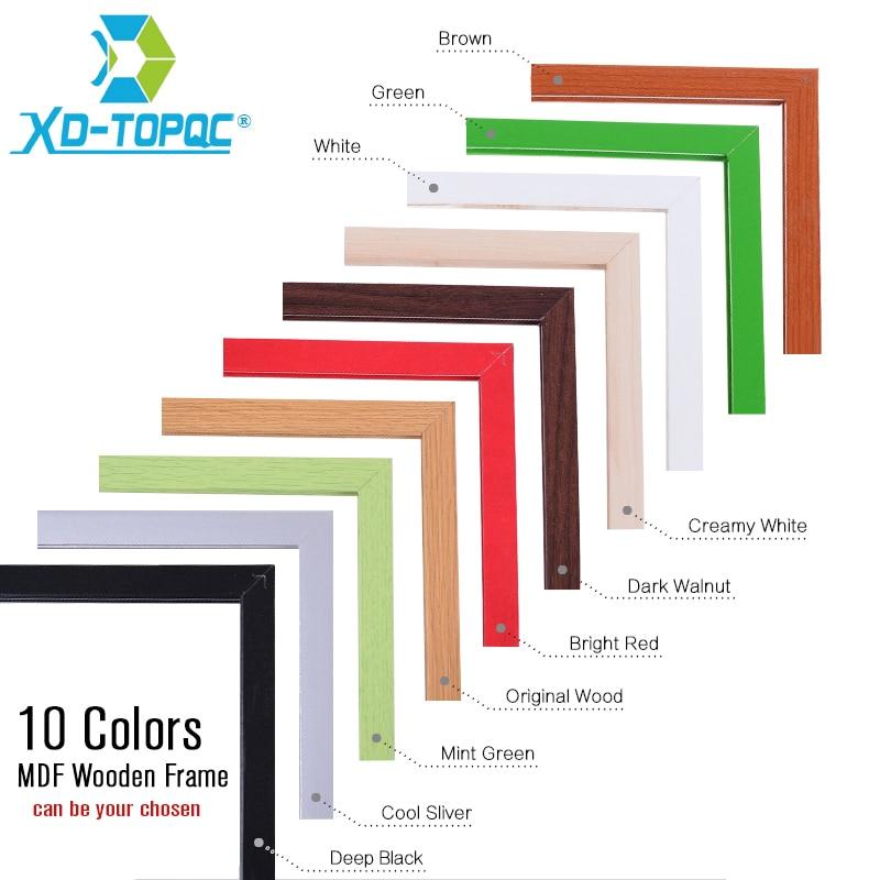 Quadro Branco 10 cores mdf escritório tamanho Colors : 10 Colors Mdf Wooden Frame