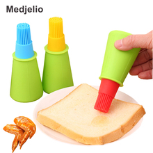 Silicone BBQ Oil Bottle Basting Brushes for Home Baking Cooking Pastry grill barbecue Cream brush Cake Tools