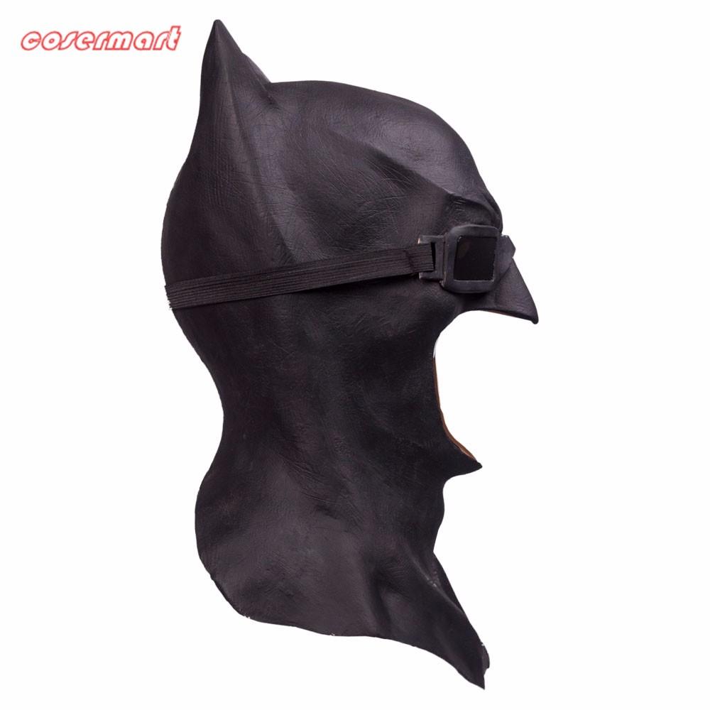 Batman Masks Full Head Latex Batman Vs Superman Masks With Glasses Dark Knight  Mask Cosplay Batman Masks Halloween Party (4)