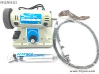 Free shipping 220V 50HZ 350W Bench Lathe Electric Bench Buffer Polishing Buffing Polisher Machine For Jade jewelry