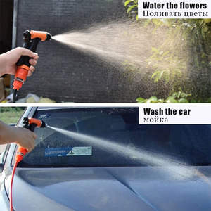 Image 5 - Bomba de alta presión para lavado de coche, 12v, limpiador de alta presión, lavadora de potencia de presión, lavado automático
