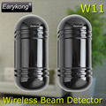 Outdoor Waterproof Infrared Beam Detector, 433MHz Wireless / Wired detector,  infrared barrier Detector