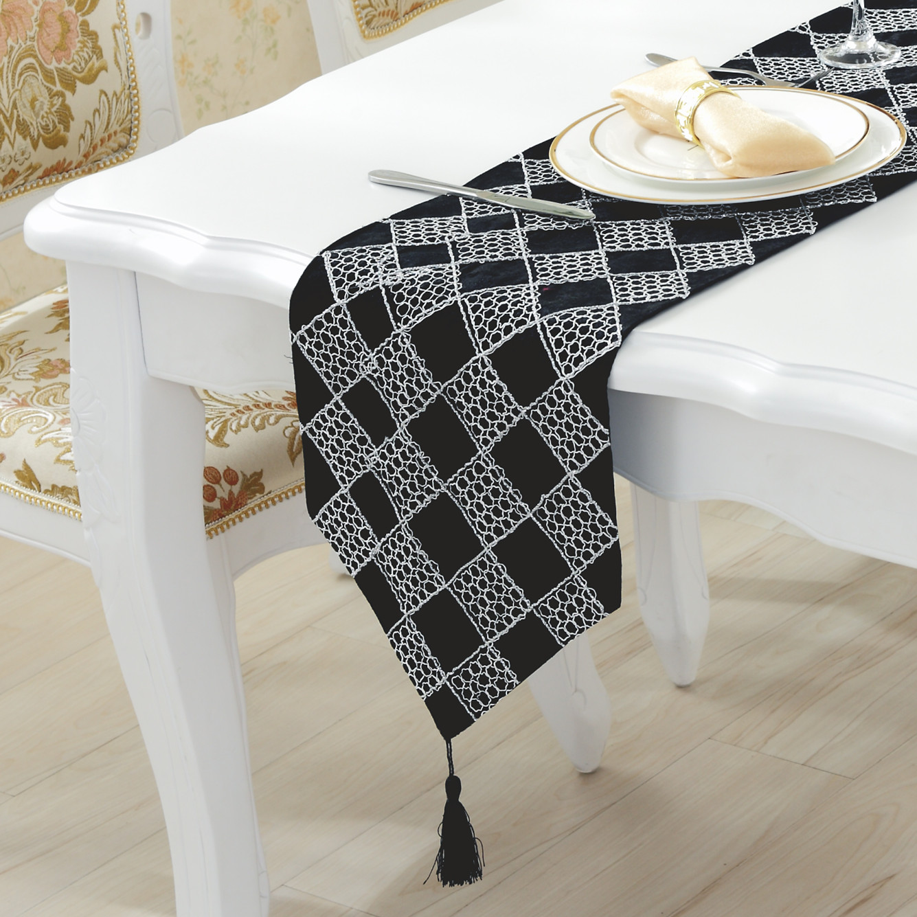 online buy wholesale modern table runners from china modern table  - cm cm the new upscale fashion simple modern table runner plaidflannel living room coffee table