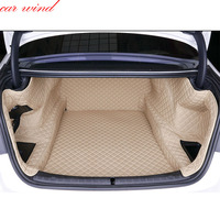 Car wind Custom car trunk mat For bmw f10 F11 Cargo Liner Interior Accessories Carpet car styling Foot Trunk mat