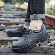 Anti-mite Breathable Protective Shoes Anti-smashing Anti-piercing Safety Electrician Insulated