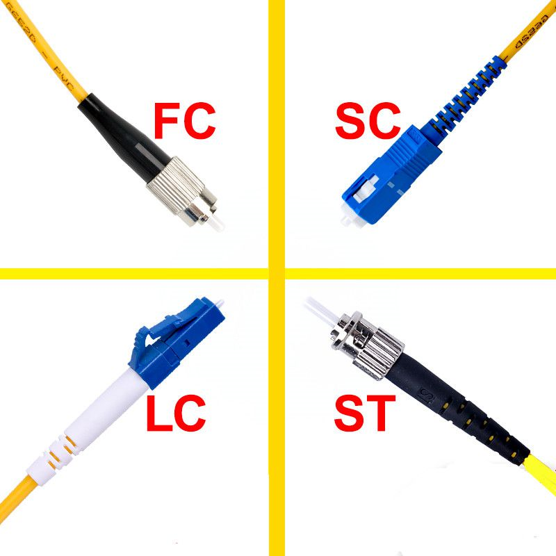 SC To LC SC To LC ST To FC ST To FC Fiber Patch Cord Jumper Cable SM Simplex Single Mode Optic For Network 3m 5m 10m 20m 30m 50m