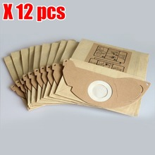 12pcs Vacuum cleaner dust parper bags replacement for Karcher A2000 2003 2004 2014 2024 2054 2064 2074 S2500 WD2200 2210 2240