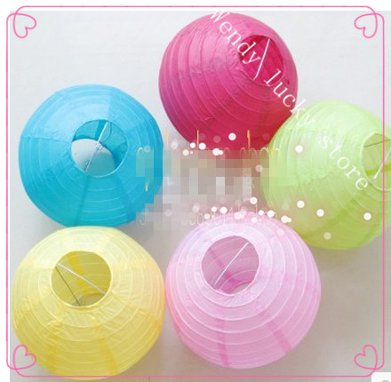 Chinese style paper lanterns pendant lamp cover paper shade chinese style paper lanterns pendant lamp cover paper shade color lamp wedding aloadofball Image collections