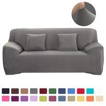 Funda de sofá de color sólido para sofá, fundas de sofá elásticas modernas universales de Spandex para sala de estar, funda de sofá europea
