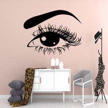 Beauty bright eye Wall Stickers Personalized Creative Nursery Room Decor Decal Bedroom Mural adesivi murali