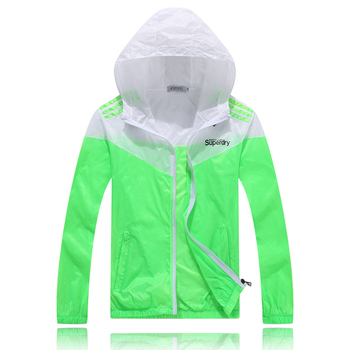 Colorful Sweethearts Outdoors Travel UV Coat Spring and Summer Thin Sun Protective Clothing Unisex Women Men 5 Colors 6