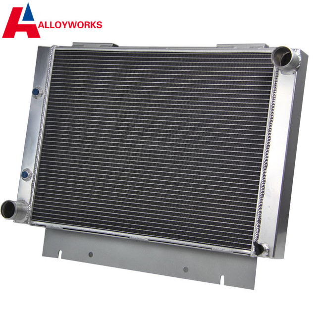 Fast Delivery NEW Brand 3ROW Aluminum Radiator For Ford Galaxie 500XL 1960 1963 1961 1962
