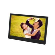 Завод 15 дюймов светодиодный HD 1280*800 полнофункциональная цифровая фоторамка электронный альбом для фотографий Музыка Видео подарок на день рождения