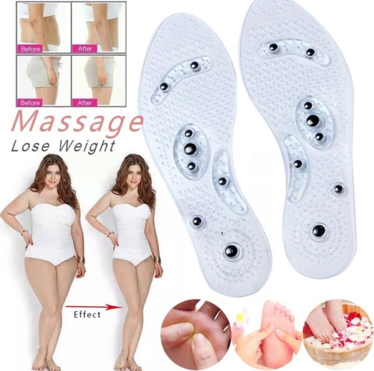 Fußpflege-utensil Humorvoll Neue Männer Und Frauen Magnetische Therapie Fuß Einlegesohle Transparent Silikon Anti-müdigkeit Gesundheit Pflege Massage Abnehmen Gewicht Verlust Einlegesohle Haut Pflege Werkzeuge