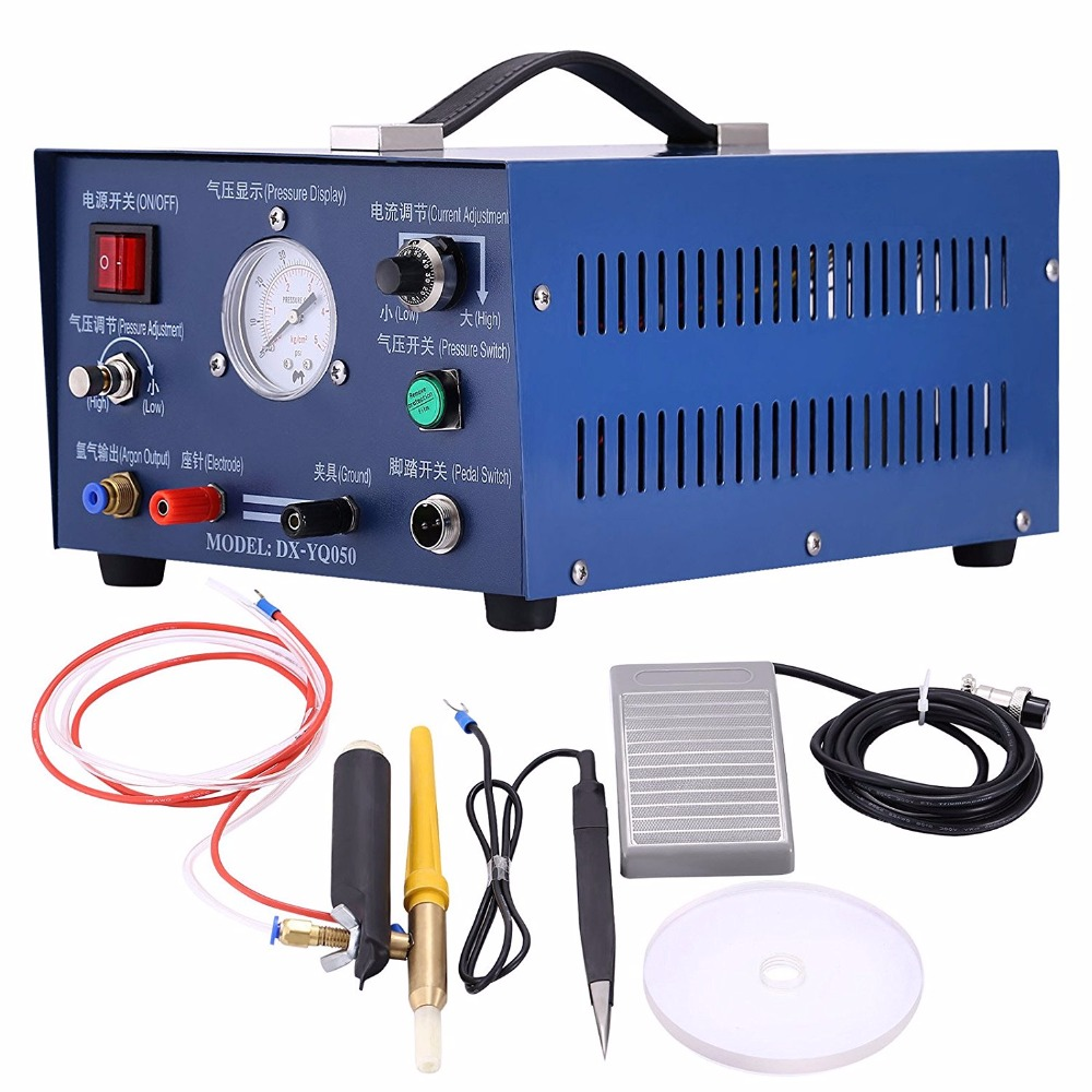 Pulse Argon Spot Welder Jewelry Welding Machine 400W spot welder Gold Silver Platinum Palladium nickel palladium and platinum