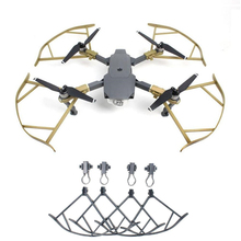 Gizcam Prop Propeller Guards Protector Cover Bumper Landing Gear for DJI mavic pro Drone Ring Protection Quadcopter Accessories