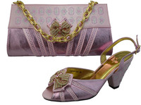 GF17 Pink Shoes And Matching Handbag Party Shoes And Matching Bags Italian Matching Shoes And Bags