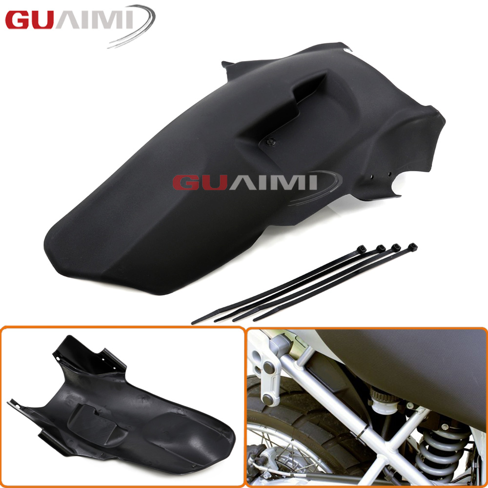For BMW R1200GS 2008 2009 2010 2011 2012 R1200 GS Motorcycle Rear Tire Hugger Mudguard Fender motorcycle accessories carbon fiber rear fender mudguards fender hugger for bmw s1000rr 2009 2017 2010 2011 2012 2013 2014 2015