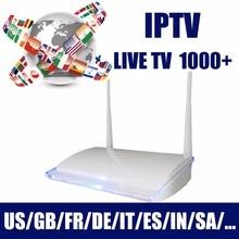 2019 жизни бесплатный арабский IPTV, Android ТВ коробка подписка Live ТВ 1000 +, Индии Франция, Италия канала без ежегодная плата просмотра