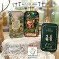 DIY Miniatura Dollhouse Box Theatre FOREST RHAPSODY Iron Box Small Toy House Secret Box Girl Birthday Gifts Christmas present