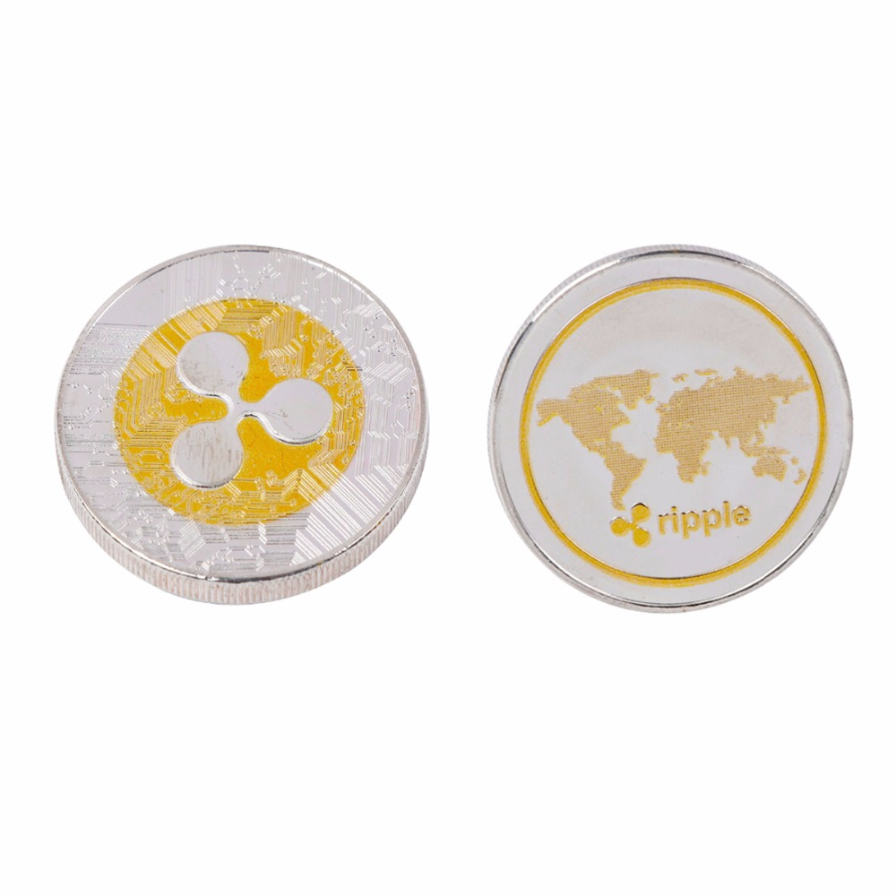 Double color New Ripple coin XRP CRYPTO Commemorative ...