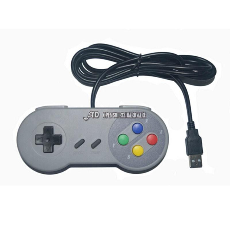 Raspberry Retropi Game Console Remote Control Handle - Plug and Play - USB Handle, SNES Handle