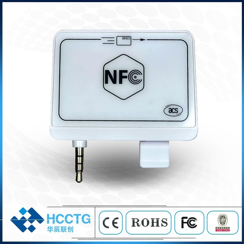 NFC de Jack de Audio de lector de tarjeta Magnética/teléfono móvil lector de tarjeta de crédito con SDK libre - 2